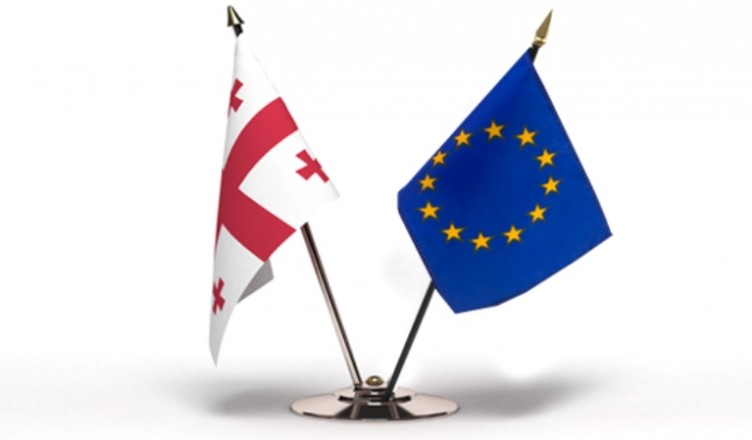 georgia-eu-flags