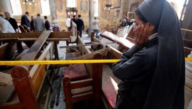 داعش يعلن مسؤوليته عن الهجوم على الكنيسة البطرسية بوسط القاهرة