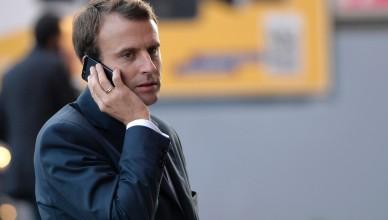 Macron-telefon