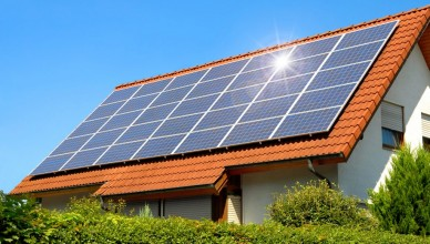 bigstock-Solar-Panel-On-A-Red-Roof-14532428