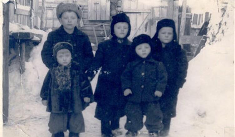 Copii_Siberia_1950_m