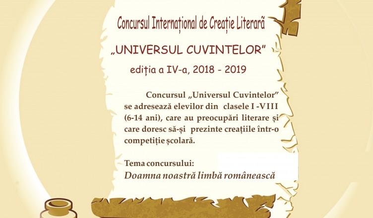 concurs creatie literara