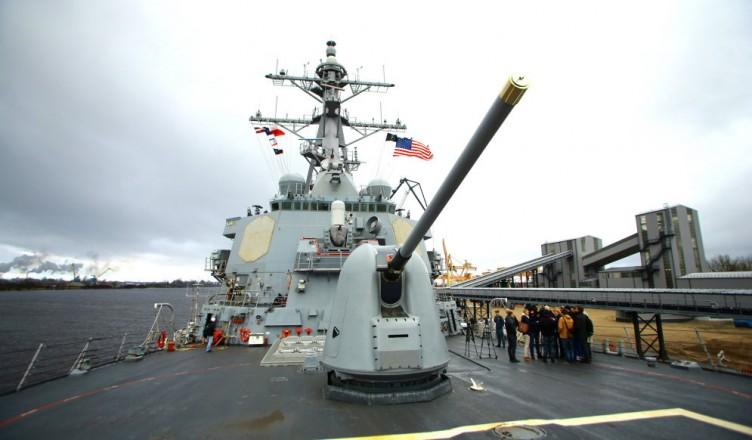 20.04.2016. Reportāža no ASV Ārleja Bērka klases vadāmo raķešu kuģis iznīcinātājs USS Donald Cook.