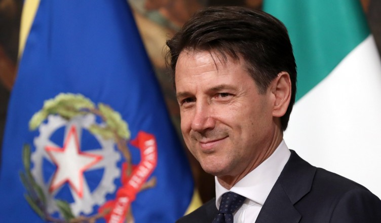 ROME, ITALY - JUNE 01:  Italy's new Prime Minister Giuseppe Conte arrives at Palazzo Chigi to open his first cabinet meeting on June 1, 2018 in Rome, Italy. Law professor Giuseppe Conte has been chosen as Italy's new prime minister by the leader of the 5-Star Movement, Luigi Di Maio, and League leader Matteo Salvini.  (Photo by Elisabetta Villa/Getty Images)