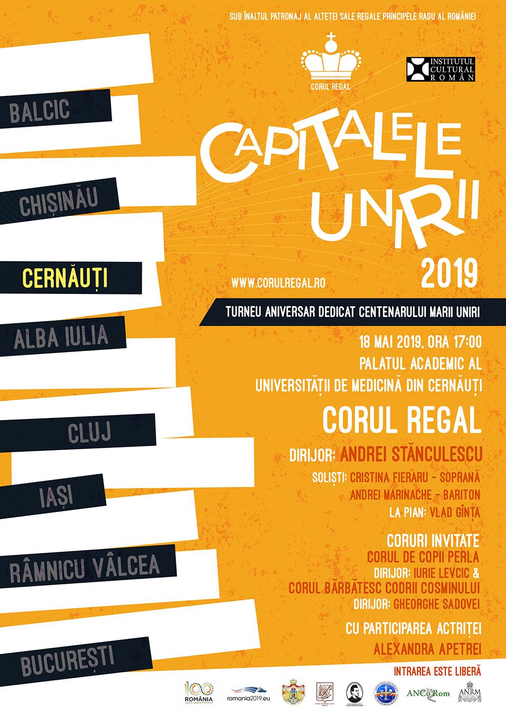 Corul Regal - Capitala Unirii - Cernauti