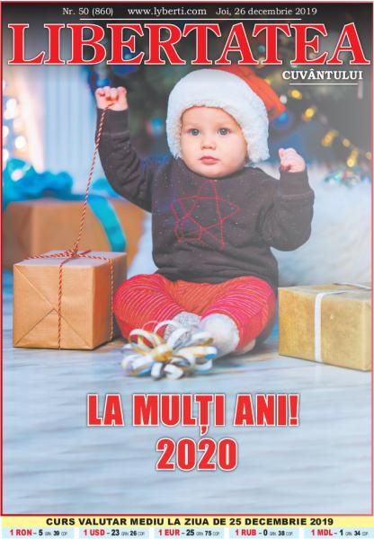Libertatea Cuvântului Nr.50 (26 decembrie 2019)