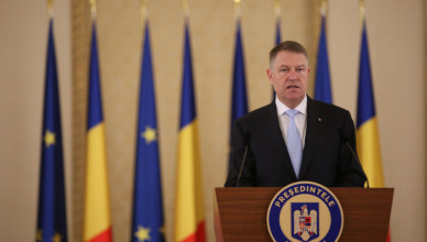 Presedintele Romaniei, Klaus Iohannis, participa la declaratii de presa comune, la Palatul Cotroceni, miercuri, 5 februarie 2020. Inquam Photos / Alexandru Busca