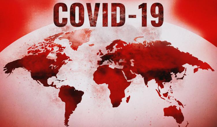 Covid-19, Novel Coronavirus Pandemic Global Spread Concept