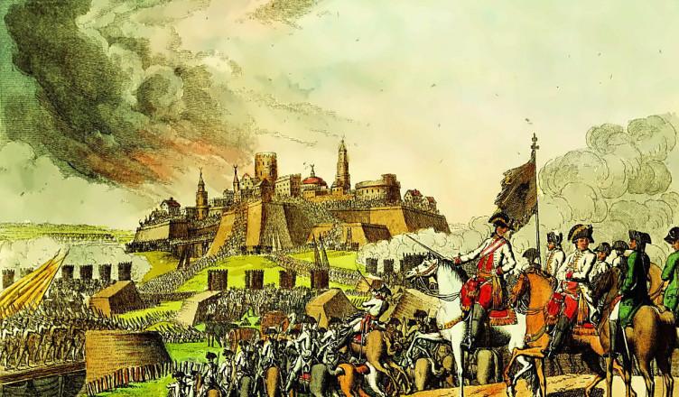 Razboiul austro-turc 1788 acuarela